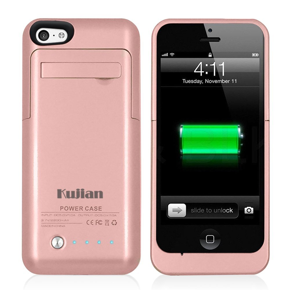 Ultra Slim External Bank Charger Case 2200mah For Iphone 5s Backup Battery Cover Se 5 5c In Cases