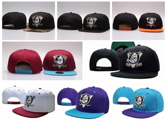 2fd246d40cd33 nhl baseball caps Mighty touca Hockey Snapback Hats Anaheim Ducks bone cap  Flat .