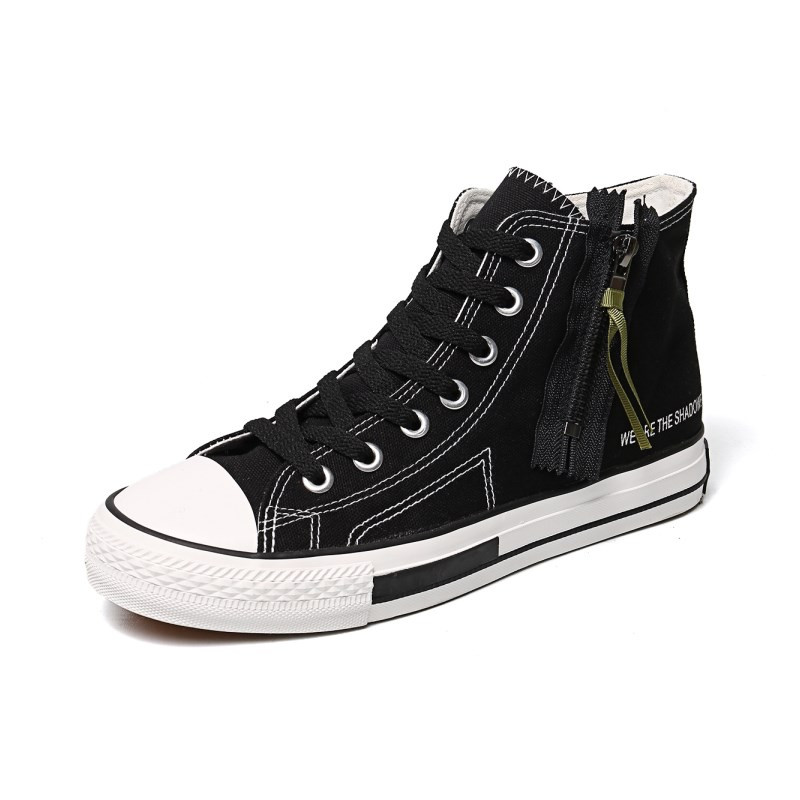 Chaussures Printemps Black C95 Toile Été Appartements C95 Top Mode Respirant Sneakers Casual 2018 white High Hommes nRqgdxFga