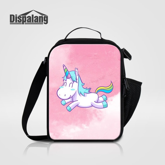 Women Small Lunch Bag For Office Cute Unicorn Designer Messenger Lunch  Cooler Bags For Girls Portable Food Lunch Box For School 9f54804a514a2