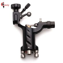 1PC Pro Tattoo Machine Black Dragonfly Rotary For Shader and Liner Best Price Permanent Makeup Gun Free Shipping