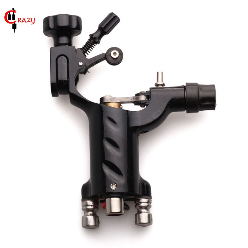 1PCS Pro Black Dragonfly Rotary Tattoo Machine Shader және Liner Жоғары сапалы Tattoo Machine Gun Making Tool Тегін жеткізу