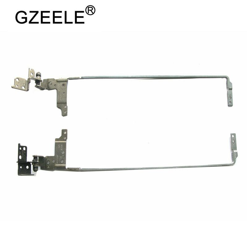 GZEELE New Laptop Hinge For Lenovo G40 G40-30 G40-35 G40-45 G40-70 Z40 Z40-70 AM0T0000100 AM0T0000200 Notebook L & R LCD Hinges