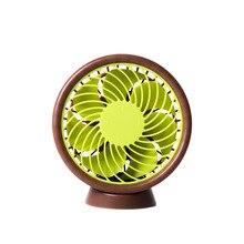ITAS1373 Dormitory Office Desktop Silence Student Charging Mini-fan Portable Fan Gift colorful electric fan