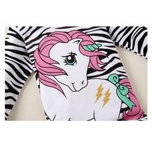 Girls zebra pyjamas