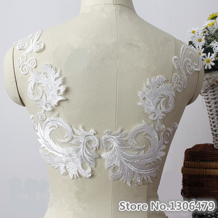 Online buy wholesale lace embroidery designs from china