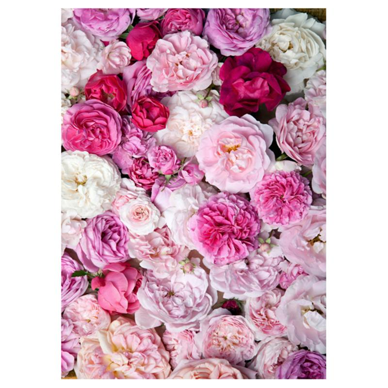 Beautiful Flowers Background Cloth Photo Studio Shooting Backdrops Props Backgrounds Photography Accessories 0.9x1.5m цена