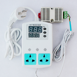 Plug-n-play Intelligent Temperature and Humidity Controller , Electronic Thermostat Smart home