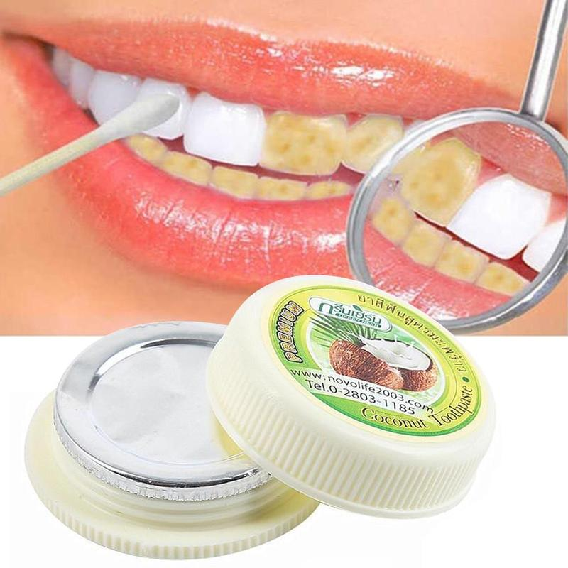 Natural Herbal Clove <font><b>Thailand</b></font> Toothpaste Tooth Whitening Toothpaste Dentifrice Antibacterial Tooth Paste Remove Tooth Stains image