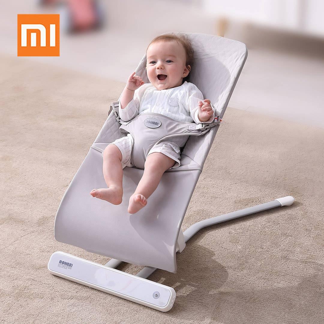Xiaomi multifonctionnel bébé panier de couchage Salincak nouveau-né bébé balançoire videur chaise à bascule automatique berceau Bebek Salincak