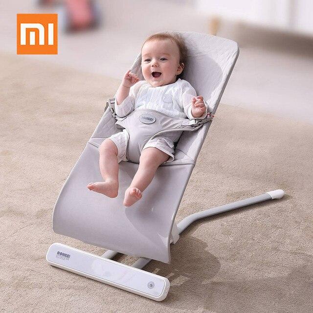 Xiaomi multifuncional bebé cesta de dormir Salincak bebé recién nacido columpio mecedora cuna automática bebebek Salincak