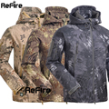 Tactical Snake Camouflage Army Jacket Men Military Shark V4.5 Waterproof Soft Shell Outdoor Jackets Camo Hiking Hunting Clothes