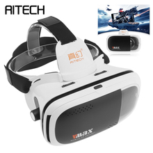 Vmax Large Field Angle Head-mounted Adjustable 3D Virtual Reality VR Glasses With AR Function for 4.7 – 6 Inch Phone Smartphone