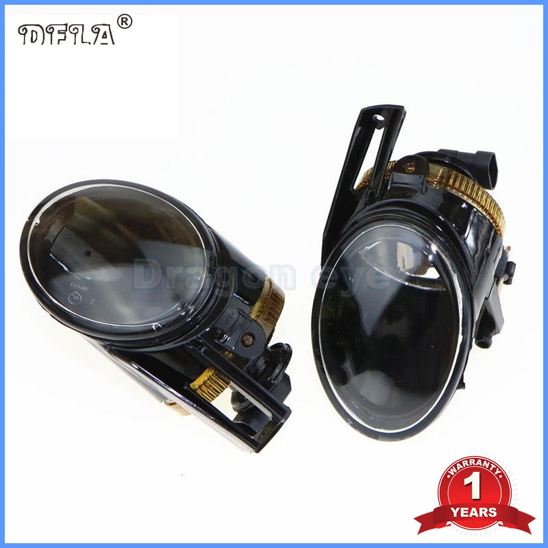 DFLA Car Light For VW Passat B6 Car-Styling 2006 2007 2008 2009 2010 2011 New Front Halogen Fog Light Fog Lamp car rear trunk security shield cargo cover for jeep compass 2007 2008 2009 2010 2011 high qualit auto accessories