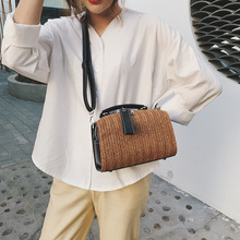 Straw Shoulder Bags 2019 High Quality Crossbody for Women Luxury Handbags Designer Bucket Cross Body