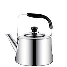Stainless Steel Kettle Whistling Tea Coffee Kitchen Stovetop Induction for Home camping picnic 3L 4L 5L 6L