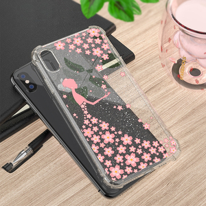 Image 5 - Heyytle Transparent Glitter Case For iPhone 8 7 Plus 6 6s Airbag Shockproof Case For iPhone XR X XS MAX 9 Soft TPU Cover Coque