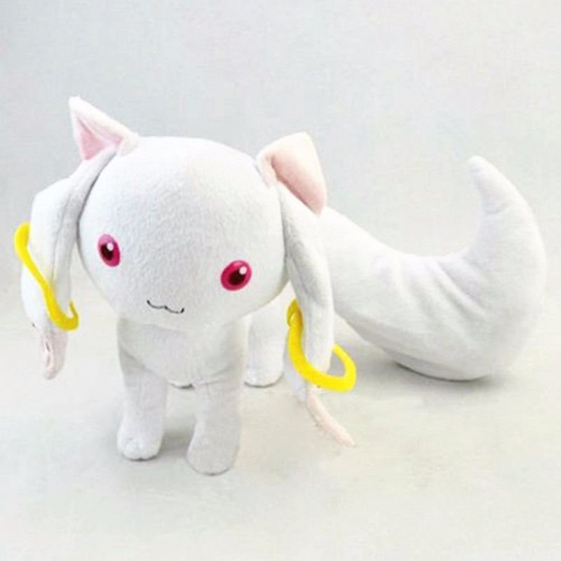 2017 New New 9 Puella Magi Madoka Magica Kyubey Plush Toy Doll Gift Stuffed Animal Plush Toy петух kelly s cross алюминий 6061 2012 derailleur hanger cross aluminum 6061 alloy 2012