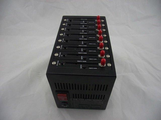 Wavecom Q24plus 8 Ports GSM GPRS Modem Pool With USB Interface Quadband Bulk sms modem Recharge system USSD STK IMEI changebale