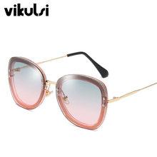 5086741571a Square Sunglasses Female Shining Vintage Women Brand Designer Clear 2019  New Fashion Crystal Sun Glasses Gradient UV400 Point