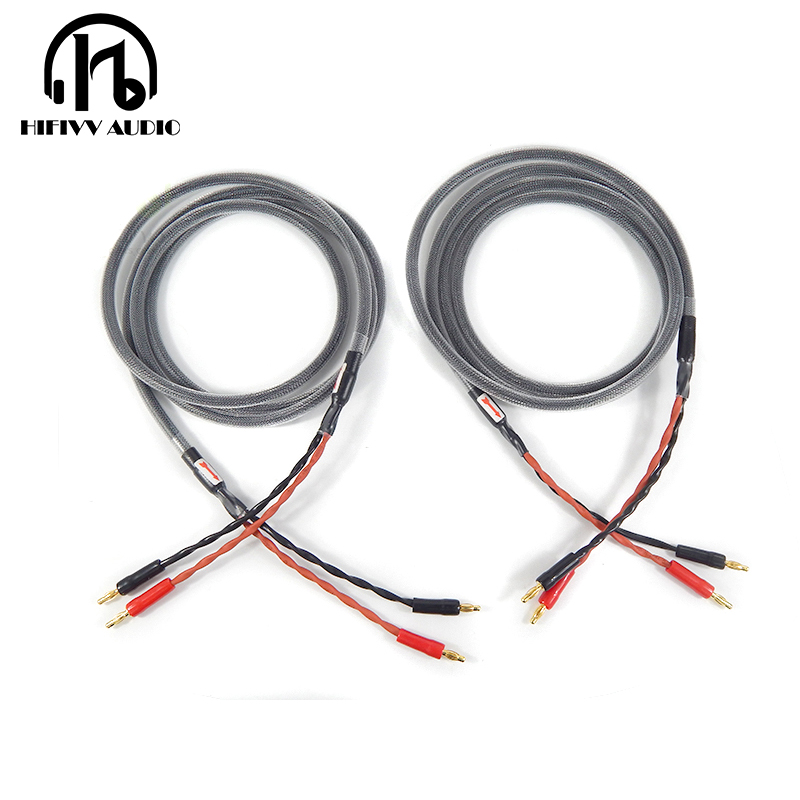 Hifivv audio hifi Speaker Cable audio speaker line Copper