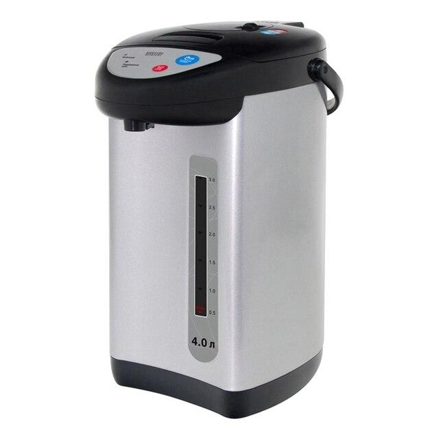 Термопот MYSTERY MTP-2452 (объем 4 л, мощность 700 Вт, блокировка включения без воды,электронное управление, индикатор поддержания температуры)