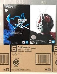 Image 5 - 100% Original BANDAI Tamashii Nationen S. h. figuarts (SHF) Exklusive Action Figure Masked Kamen Rider 1 SAKURAJIMA ver.