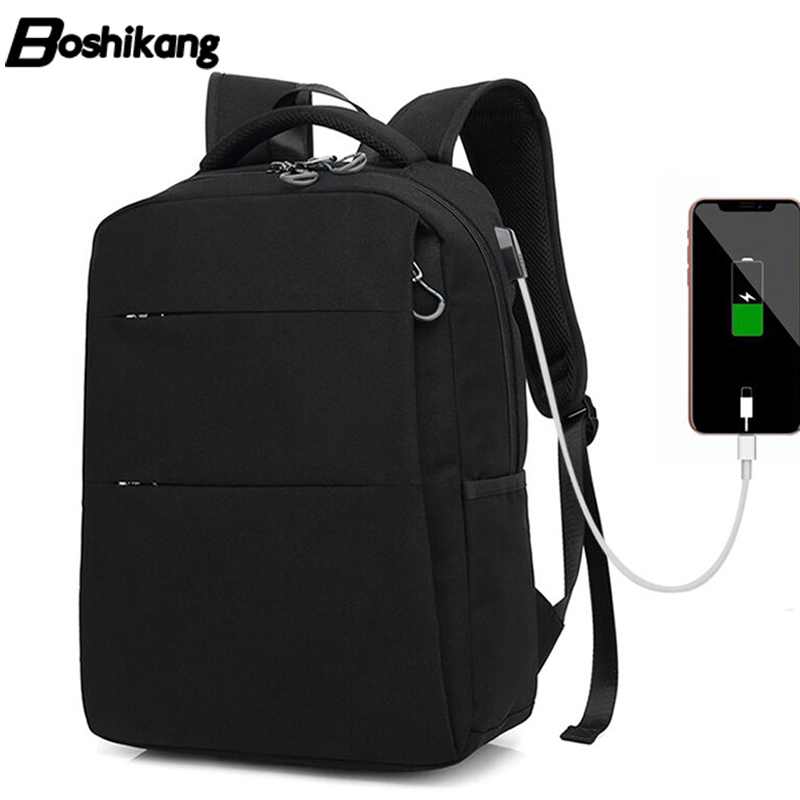 Boshikang Backpack Men Fashion Travel Pack Bag Male Large Capacity Multifunctional School Bag Waterproof Laptop Backpack Men