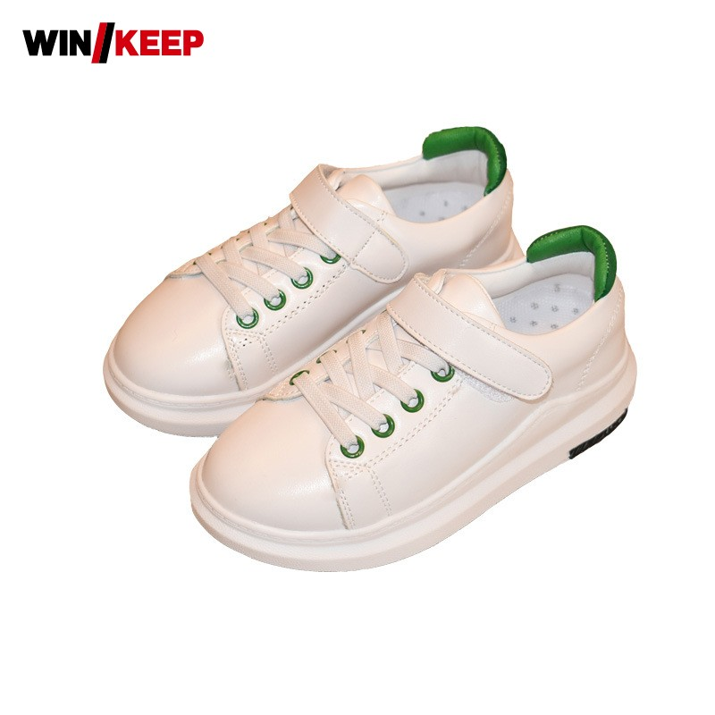 Summer New Children Sport Shoes Anti Skid Comfortable Sneakers For Kids Skateboarding Shoes Breathable Wear Resistant White new hot sale children shoes pu leather comfortable breathable running shoes kids led luminous sneakers girls white black pink