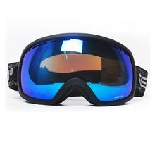 2016 Winter Cocker myopia goggles odd and even plate preventing snow blindness men and women double