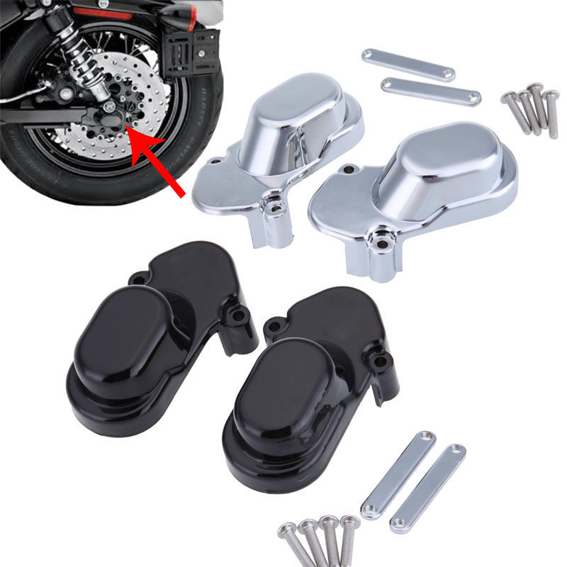 Motorcycle Parts Rear Axle Nut Cover Cap For Harley Sportster 1200 883 Custom 2005-2014 2006 2007 2008 2009 2010 2011 2012 2013 aftermarket free shipping motor parts toppers caps for 2007 2008 2009 2010 2011 2012 harley davidson softail twin cam chrome