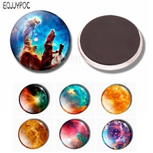 Pillars of Creation 30 MM Fridge Magnet Glass Dome Nebula Refrigerator Magnetic Stickers Message Note Holder Home Decoration джинсы rifle rifle ri369emcjwd7