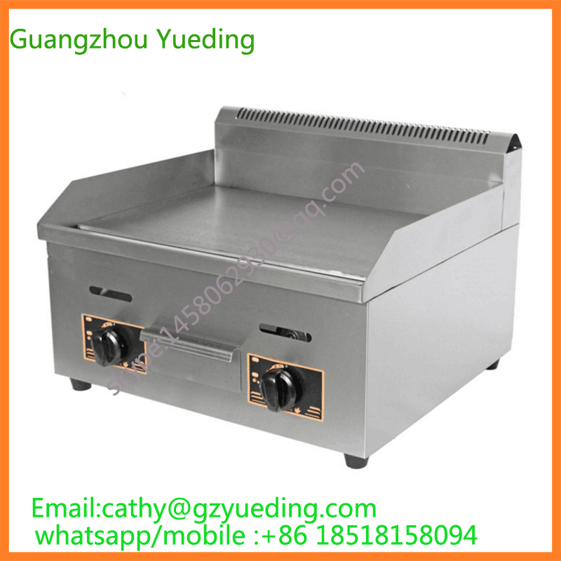 купить stainless steel gas griddle /commercial best gas grill/build-in gas barbecue grill по цене 7638.84 рублей