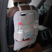Multi-funcional Cadeira Assento de Carro de Volta Pendurado Saco De Armazenamento Anti-kick Bolsos de Arrumação Tidyin
