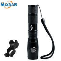 ZK50 CREE XM L T6 4000LM Waterproof Bicycle Light Torch Zoomable LED Flashlight LED Light Flashlight
