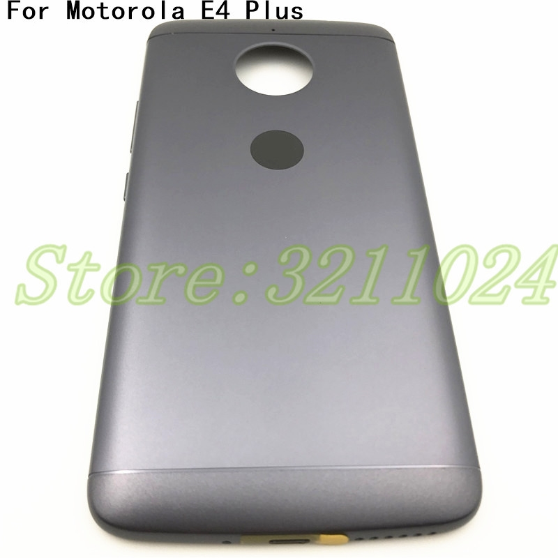 brand new 08e93 c29d2 US $7.58 5% OFF|5.5 inches Back Battery Cover Housing For Motorola Moto E  Plus (4th Gen) E4 Plus E4Plus Rear cover With Logo-in Mobile Phone Housings  ...