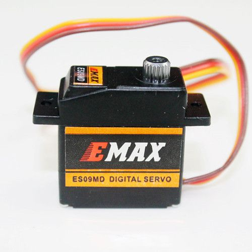 EMAX ES09MD Metal Gear Digital Micro Servo For 450 Helicopter Airplane free shipping kst ds315mg metal gear swash plate digital servo for 450l 450 rc helicopter airplane