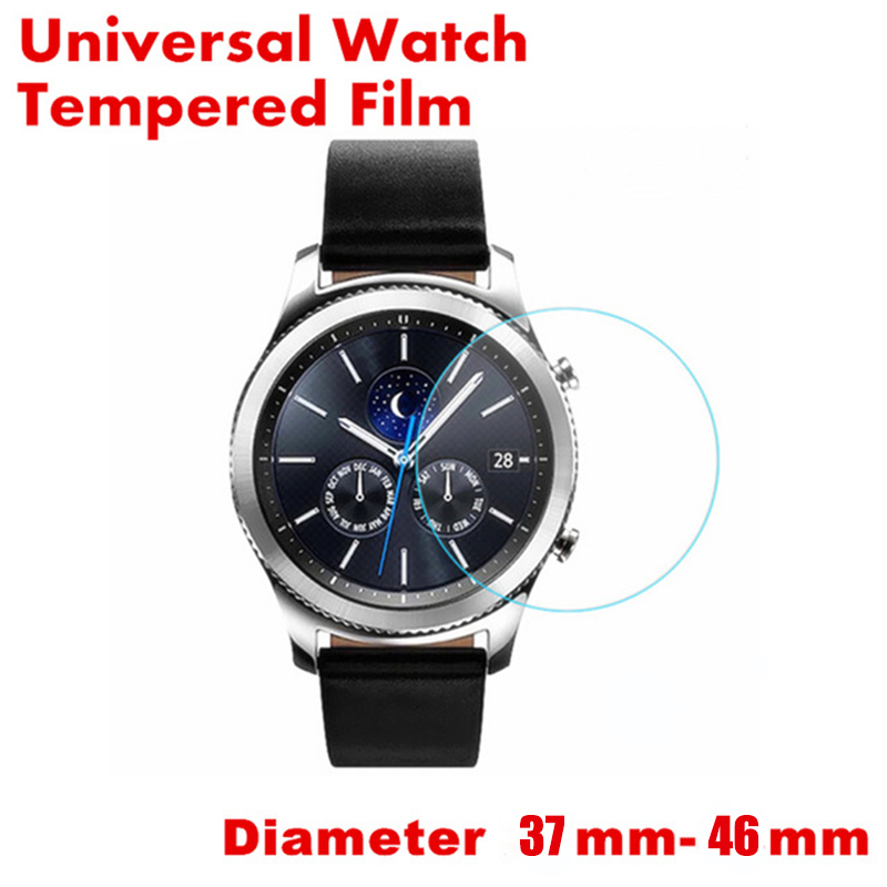 Universal Round Tempered Glass For Watch Protective Film For Round Smart Watch Diameter 37mm 41mm 43mm 46mm Screen Protector