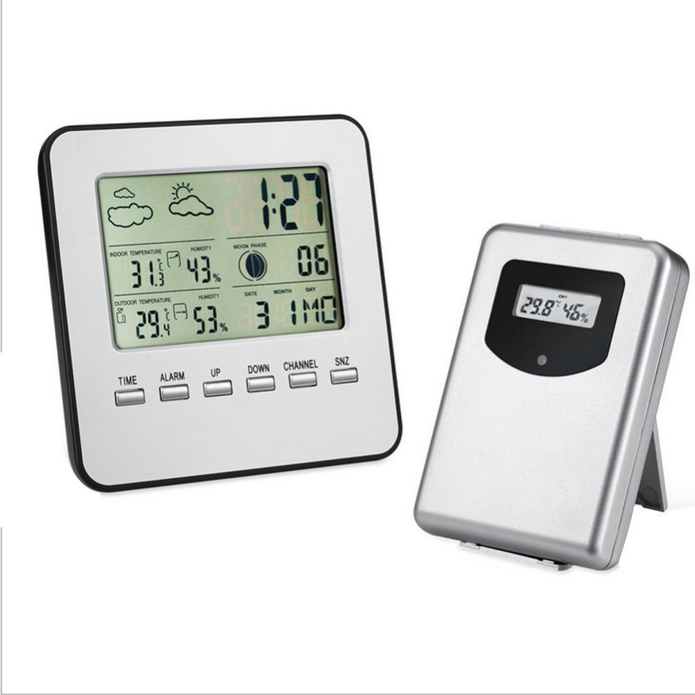 Digital LCD Wireless Smart Thermometer Hygrometer Electronic Temperature Humidity Meter Weather Station Indoor Outdoor Use фильтр для воды новая вода econic osmos to300