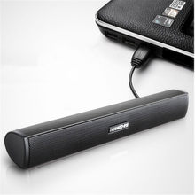 IKANOO HOT SALES Draagbare Laptop/Computer/PC Speaker Subwoofer USB Soundbar Soundbar Stok Muziekspeler Luidsprekers Voor tablet(China)