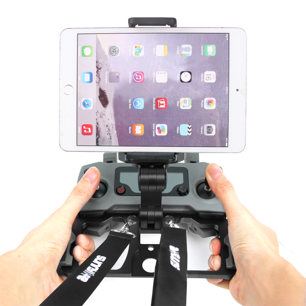Remote Controller Mount Smartphone Tablet CrystalSky Monitor Bracket Clip Holder Aluminum For DJI Mavic 2 Pro Air Spark RC Drone