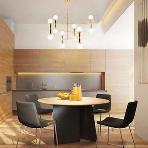 Image 3 - Nordic Creative Concise Individuality Art Iron Pendant Light Cafe Restaurant Decoration Hanging Lamp Free Shipping