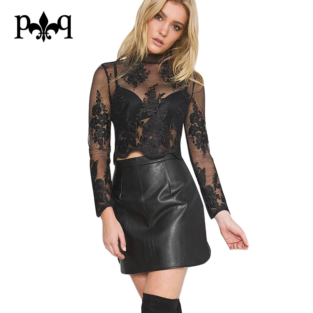 Online Buy Wholesale women wearing leather skirts from China women ...
