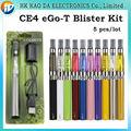 Batería EGO ce4 blister kit ce4 evaporador atomizador cigarrillo electrónico kit 650 mah 900 mah 1100 mah EGO serise colorido e cig kit