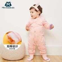 8ea1feee3 3 M-12 M Bebé Pantalones de invierno cálido ropa de lana para niños mono de  dibujos animados Niñas Ropa recién nacido mono mono .