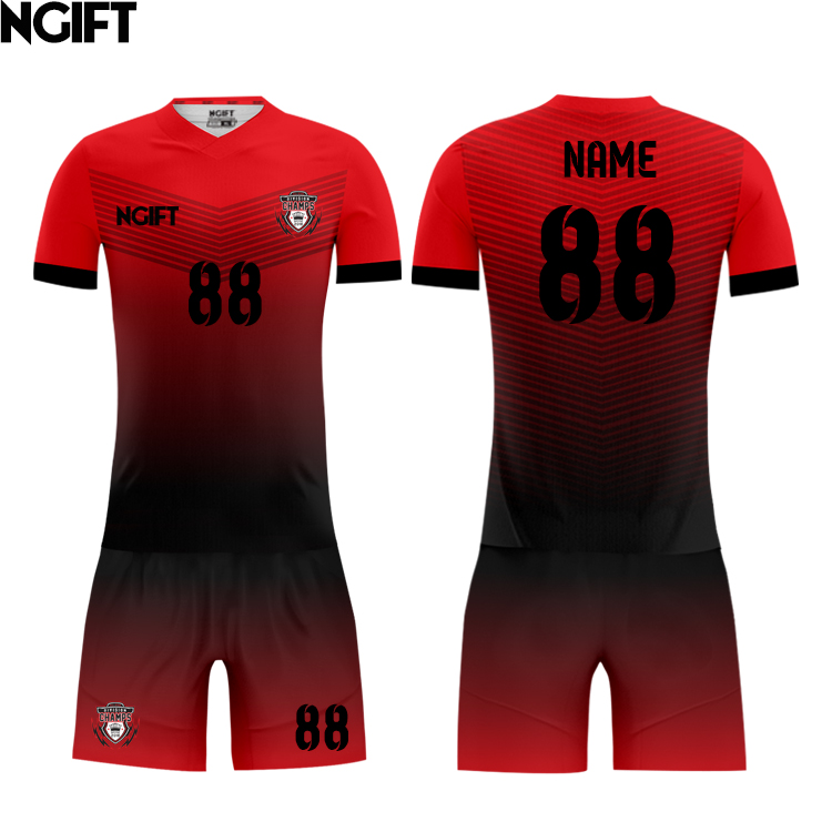 Ngift custom wholesale football jersey china cheap custom soccer jersey for men