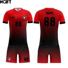 23f956fefab Ngift custom wholesale football jersey china cheap custom soccer jersey for  men(China)
