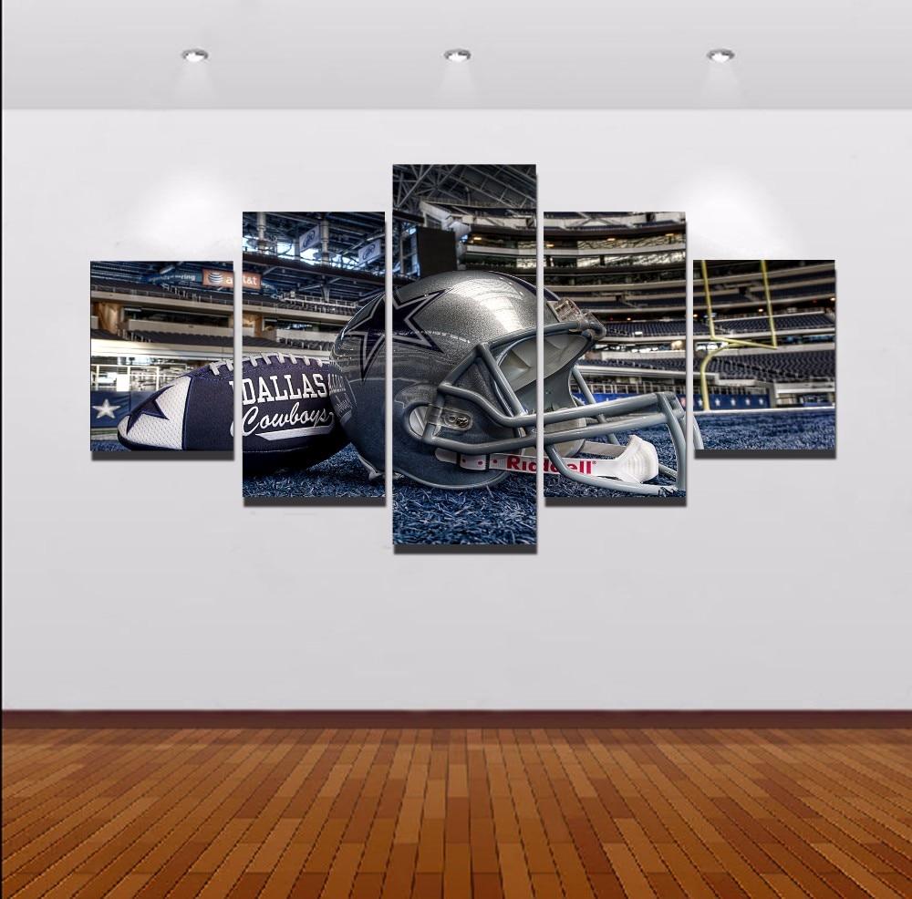 Unframed de alta calidad Dallas Cowboys cuadros decoracion paisaje ...