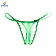 2017 Sexy Men Underwear Jockstrap Gay G Strings Thongs Penis Pouch sous vetement homme Mens String Bikini