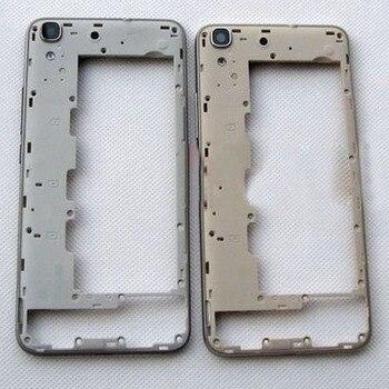 Huawei 명예를위한 원래 중간 주거 구조 4a y6 중간 구조 + 뒤 사진기 유리 렌즈 보충 수선 예비 품목은 시험했다